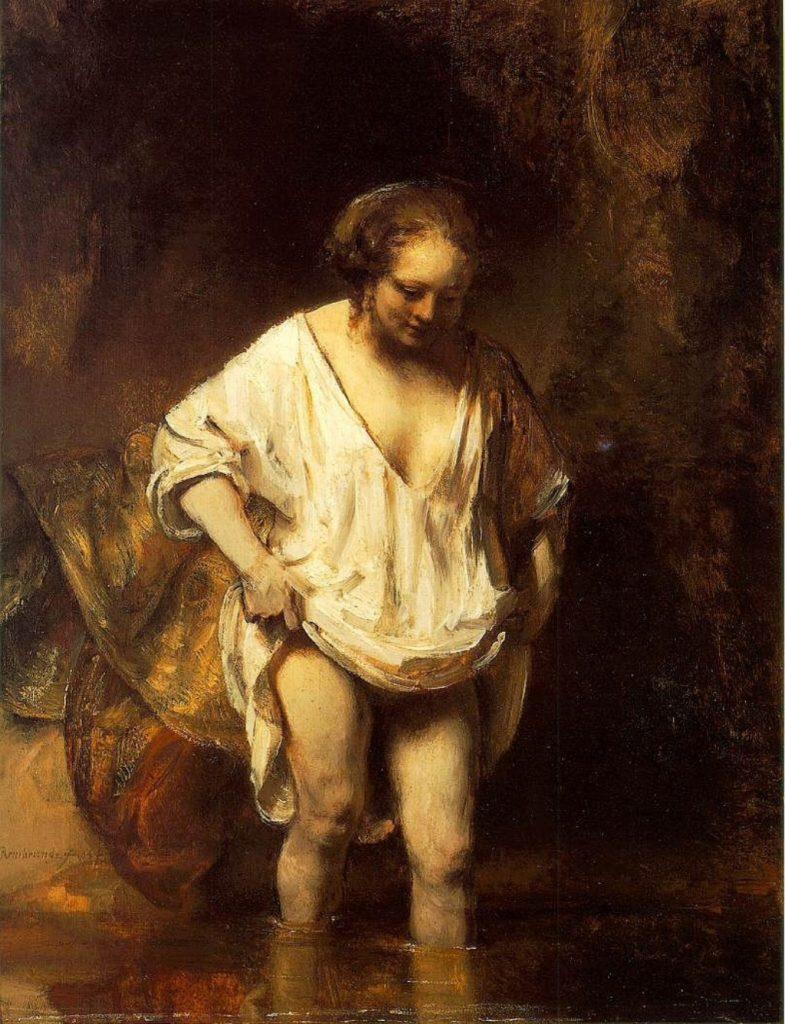 Henrickje Stoffels, afgebeeld door Rembrandt